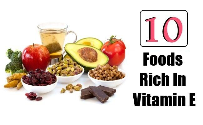 Top 10 Foods Rich In Vitamin E  http://www.vitaminsestore.com/top-10-foods-rich-in-vitamin-e/