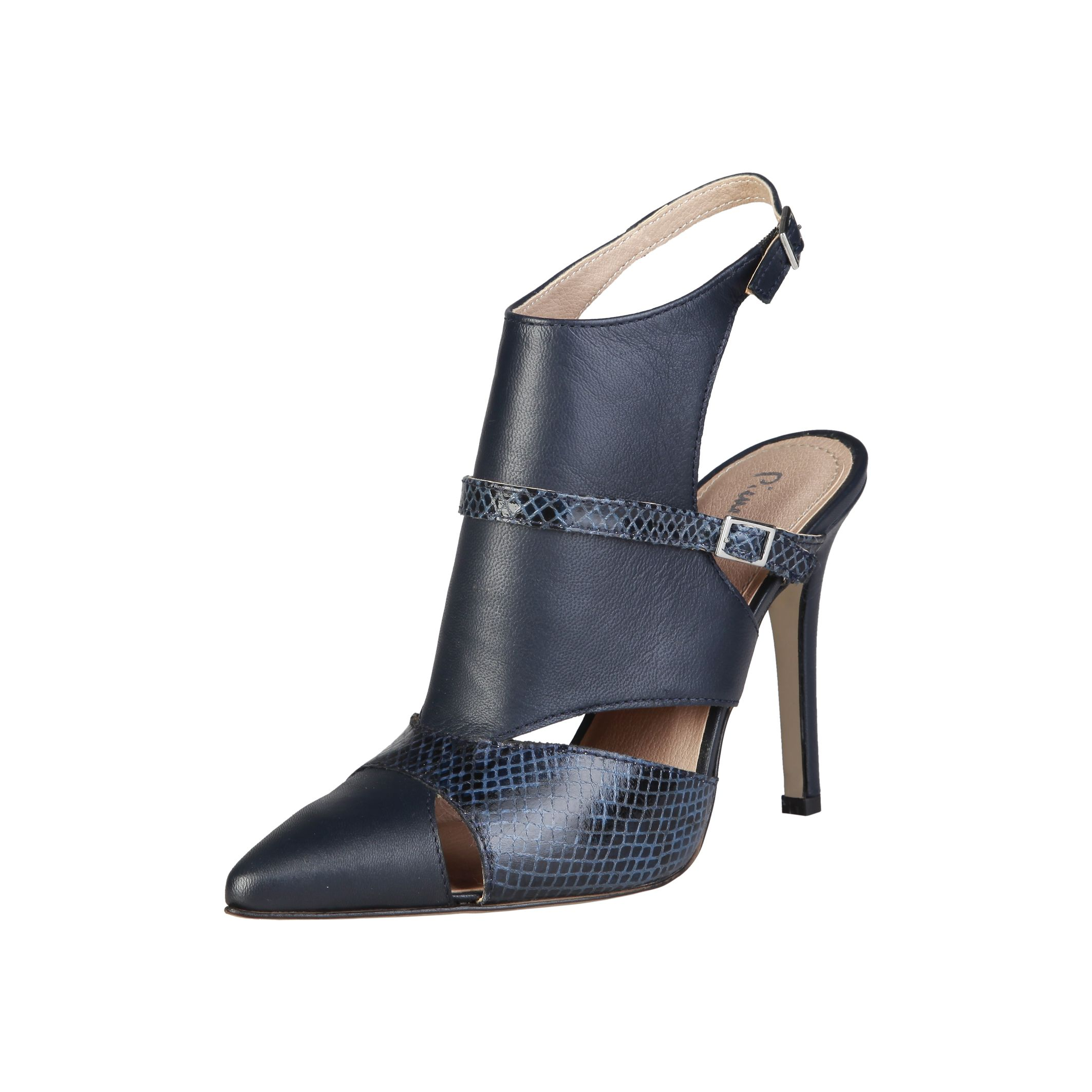 Pierre Cardin Altezza Laetitia scarpe marroni tacco 11cm Donna