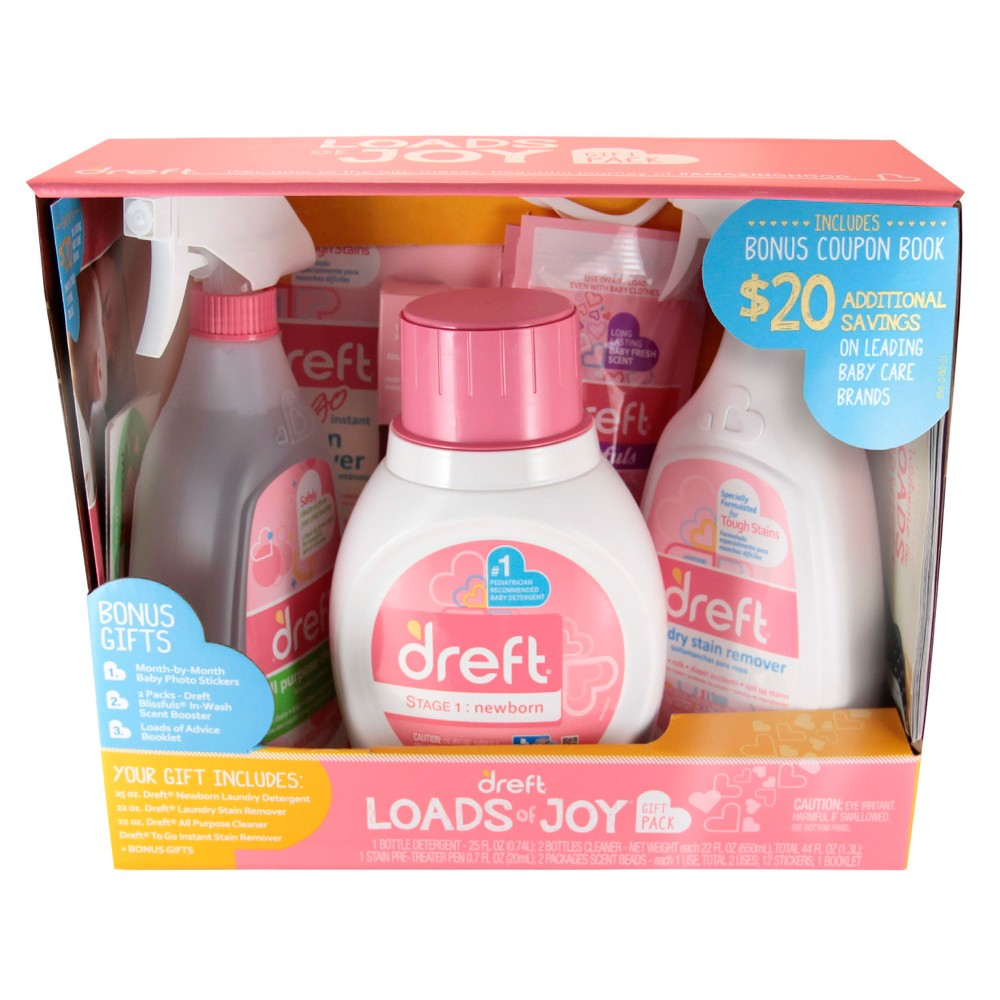 Dreft Loads Of Joy Gift Set Joy Gifts Stain Remover Spray Cleaning