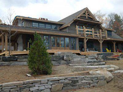 Luxury Timber Frame Home Design