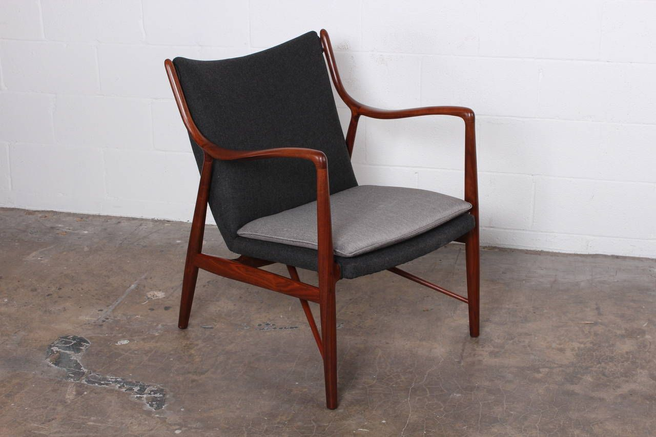 Nv45 Lounge Chair By Finn Juhl For Baker Furniture