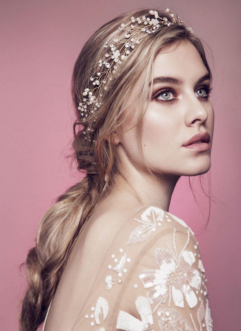 olivia the wolf bridal headpieces   aa   wedding headband
