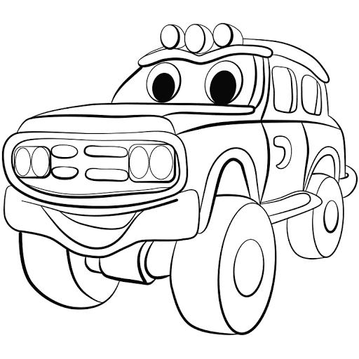 Mewarnai Mobil Mobilan Wwwimagenesmicom