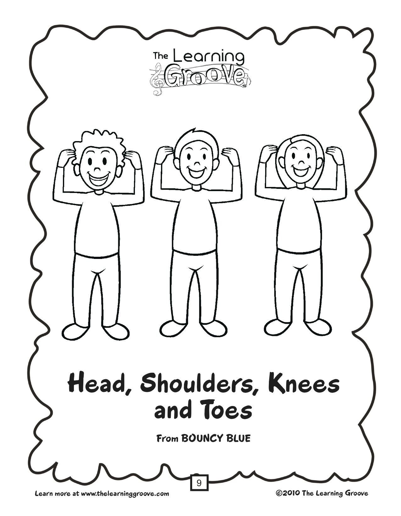 Head, Shoulders, Knees, and Toes by Eric Litwin and