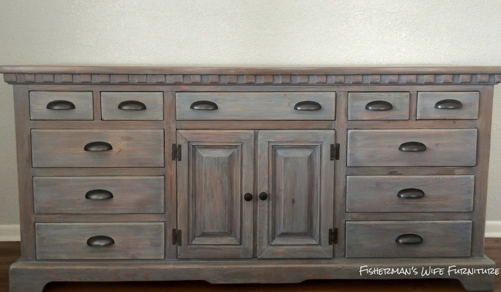 Weathered Gray Bedroom Furniture : For this finished i used rust oleum weathered gray stain