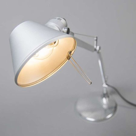 Artemide Tolomeo Micro Aluminium Desingerleuchten Artemide Desk Lamp Wall Lights