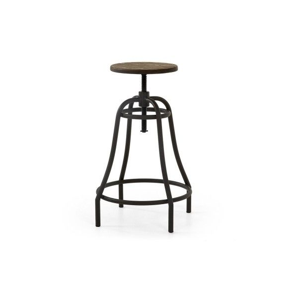 set of 2 metal outdoor stools connor 195 a¤ liked on polyvore