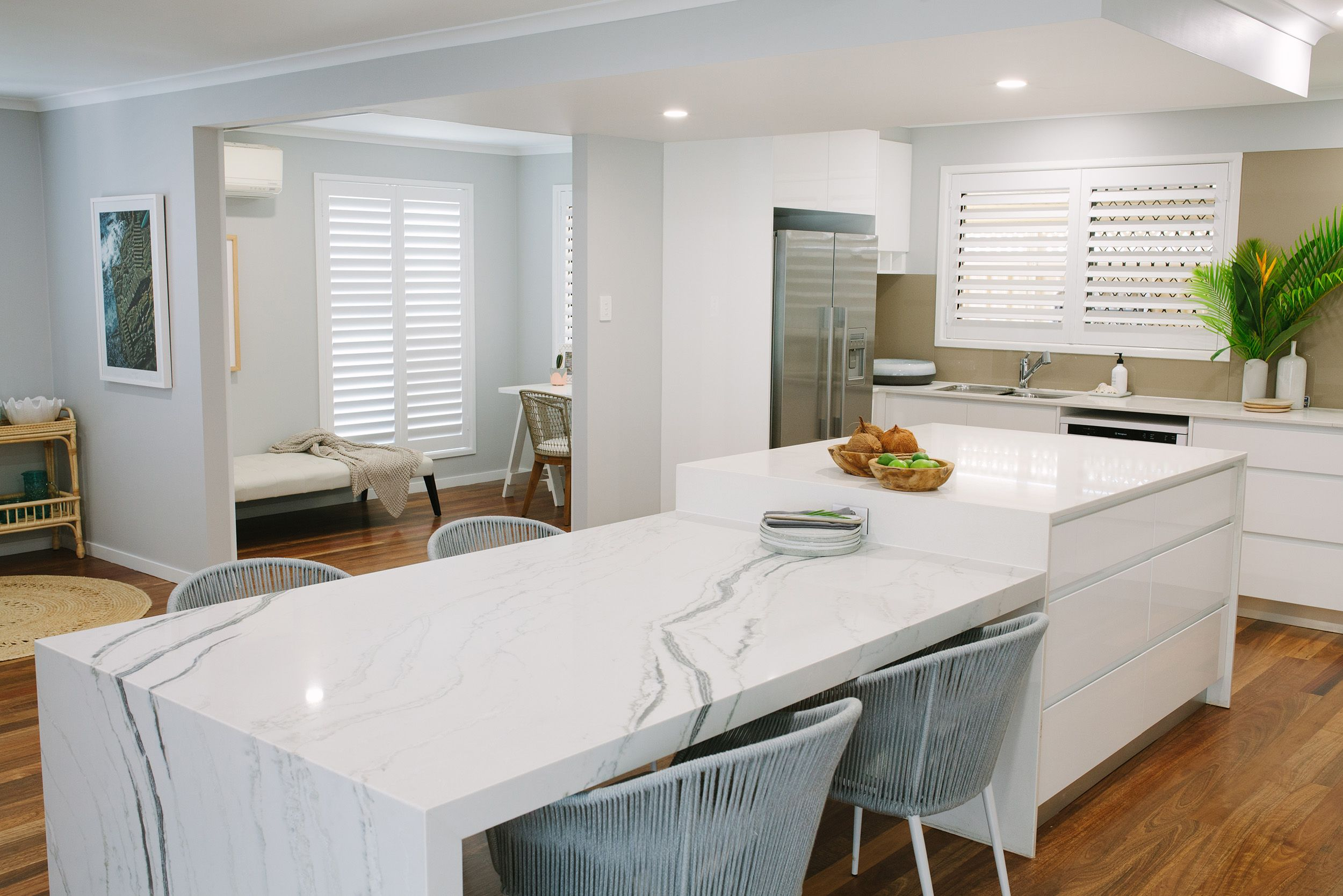 Arki Haus   Smartstone island benchtop and dining table top in ...