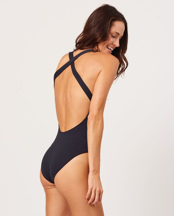 33f37c0c68a Gorgeous one piece swimsuit by Andie. The Tulum in black. Amalfi Coast