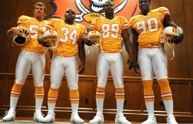 The 25 Ugliest Uniforms In Sports History Tampa Bay Buccaneers Tampa Bay Buccaneers Logo Buccaneers