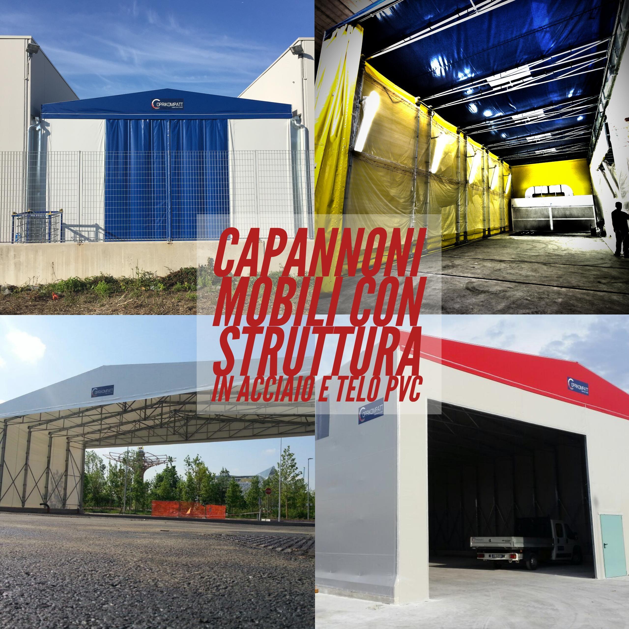 CONTATTACI per un preventivo GRATUITO su coperture mobili e capannoni. https://www.coprikompatt.com/coperture-mobili/index.php
