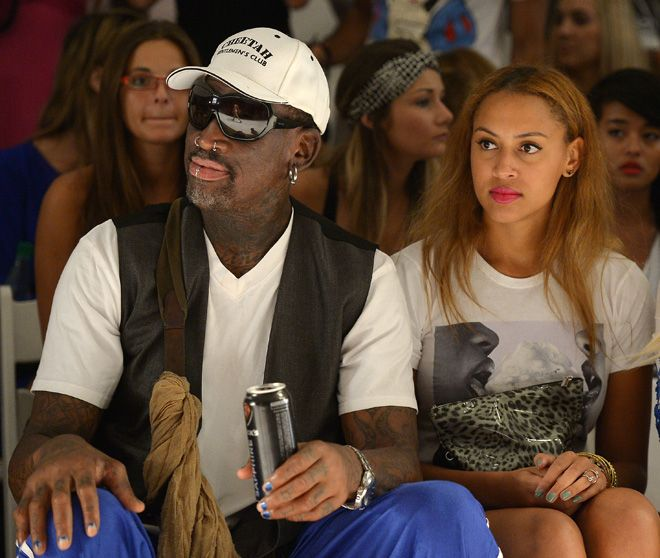 Dennis Rodman Went To A Fashion Show And Did Dennis Rodman Things