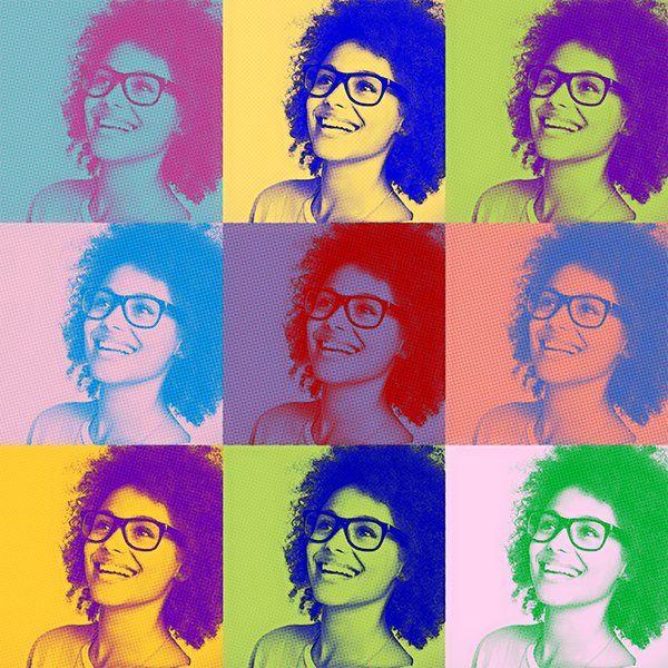 how to make andy warhol pop art in illustrator