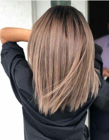 Beautiful Frisuren Farben 2019 Haarfarben Haarfarbe Braun Balayage Frisur