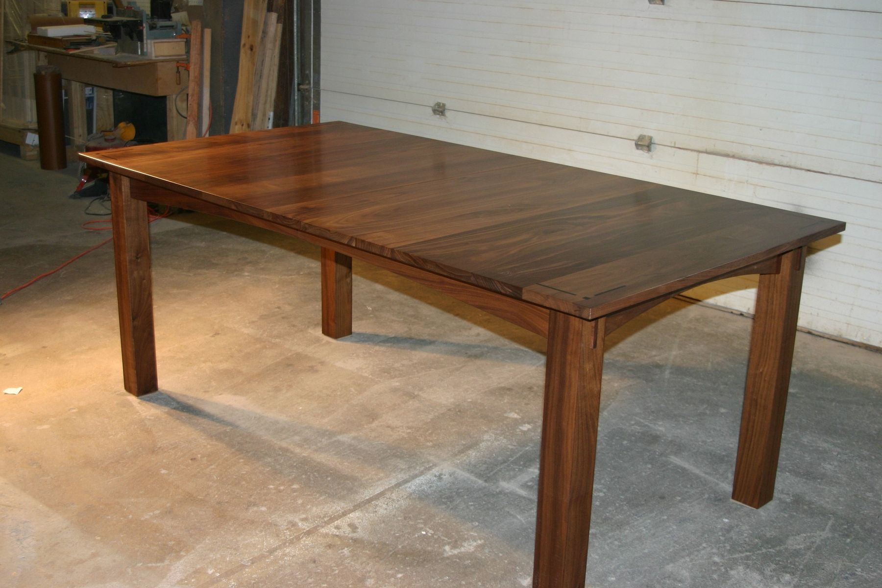 Custom Walnut Dining Table With Matching Chairs Each Accented Amusing Handmade Dining Room Tables Inspiration