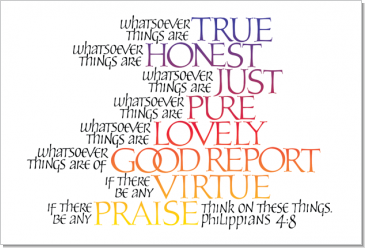 Image result for philippians 4:8