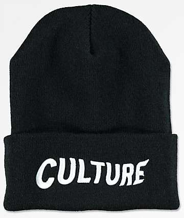 82132c6157d YRN Culture Logo Black Beanie
