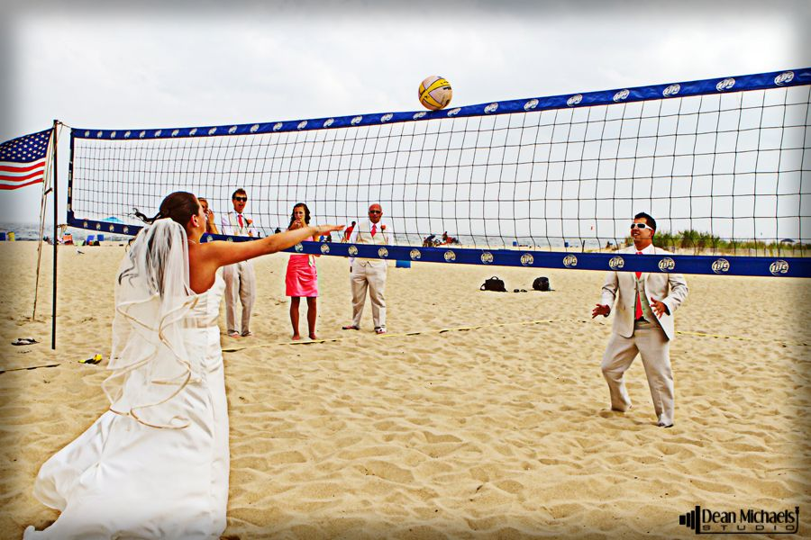 Pin By Elizabeth Wilson On Photography Jersey Shore Wedding Volleyball Workouts Beach Volleyball