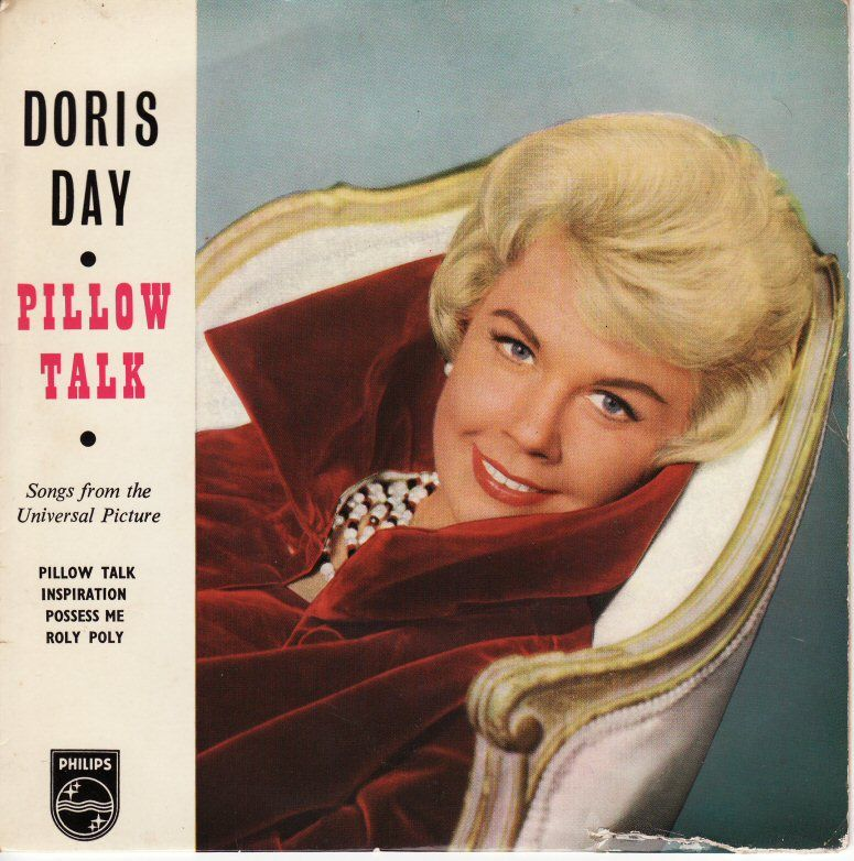 1960 Pillow Talk Doris Day Album Vintage Album Covers Pinterest