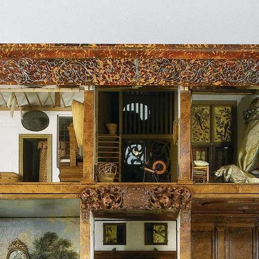 Dolls' house of Petronella Oortman, Anonymous, c. 1686 - c. 1710 - Petronella Oortman's Doll houses -Collected Works of Alberta Latt - All Rijksstudio's - Rijksstudio - Rijksmuseum