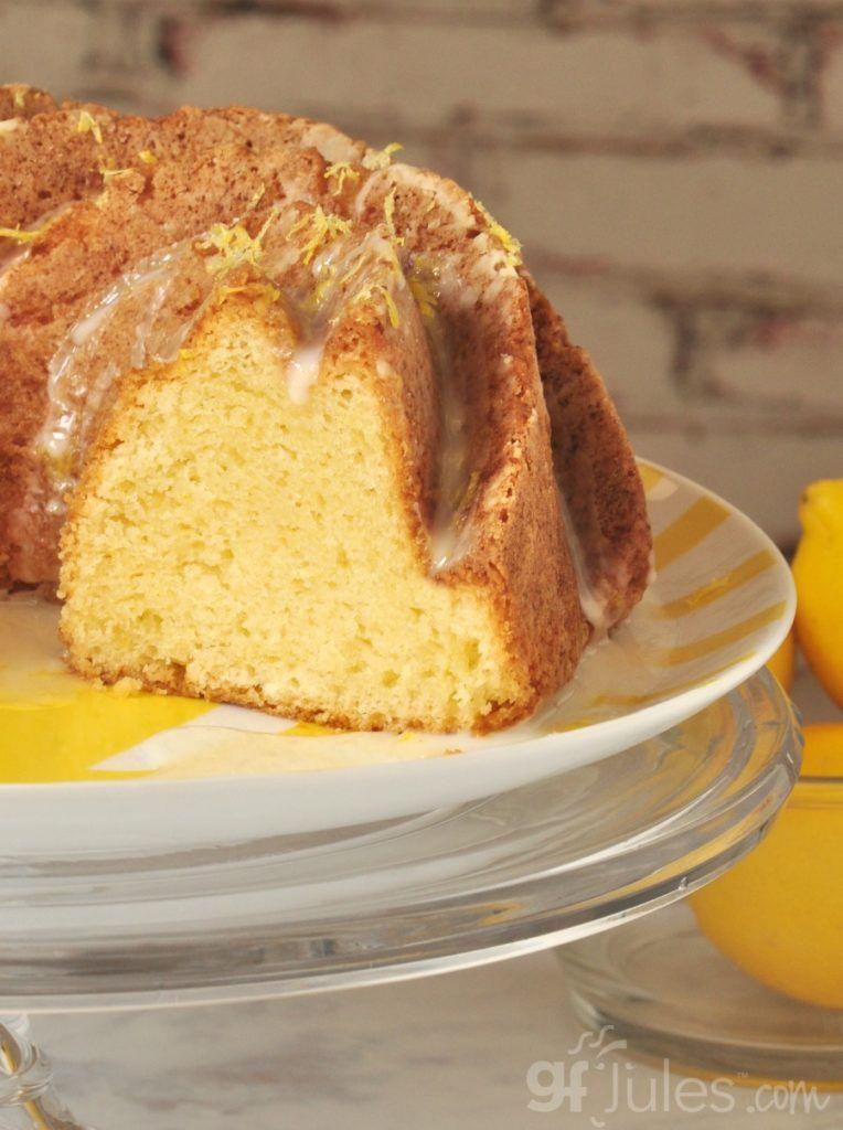 Gluten free lemon pound cake recipe with images
