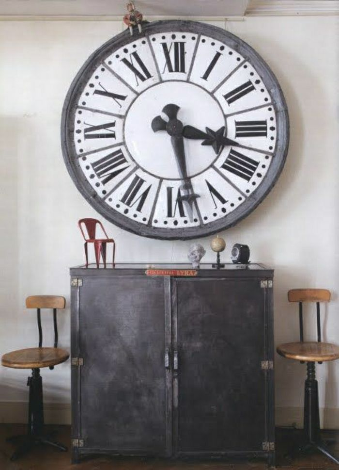 L\' horloge murale, idées en photos pour décorez vos murs ...