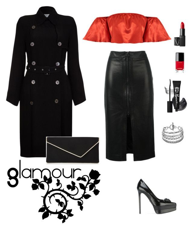 """""""💅💄💎👠"""" by crismiviana ❤ liked on Polyvore featuring Tom Ford, Versace, Ghost, L.K.Bennett, Chanel and NARS Cosmetics"""