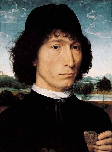 Man with a Roman Coin  Hans Memling