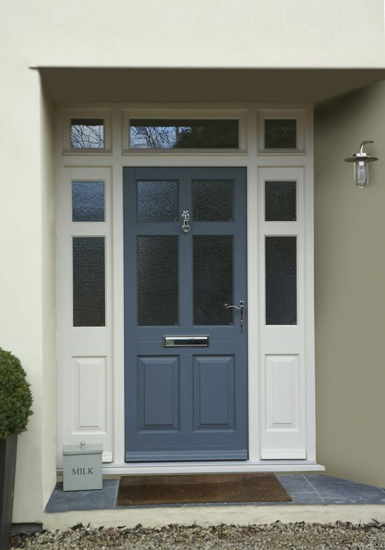 wood front doors uk