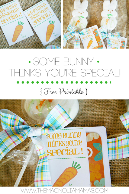 Some bunny thinks youre special free easter printable easter some bunny thinks youre special free easter printable easter party gift negle Choice Image
