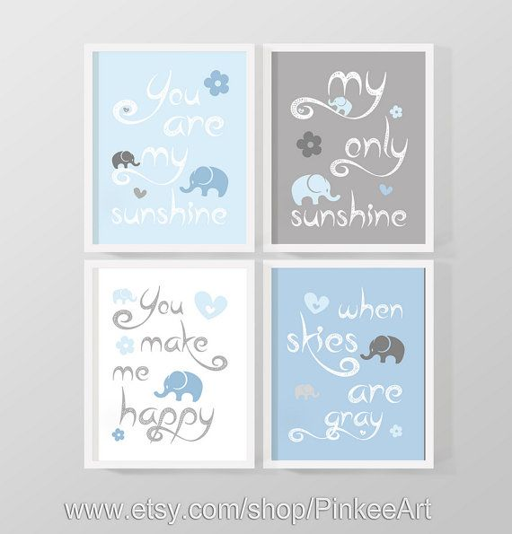 You Are My Sunshine Wall Decor baby quotes for nursery room, words to you are my sunshine art