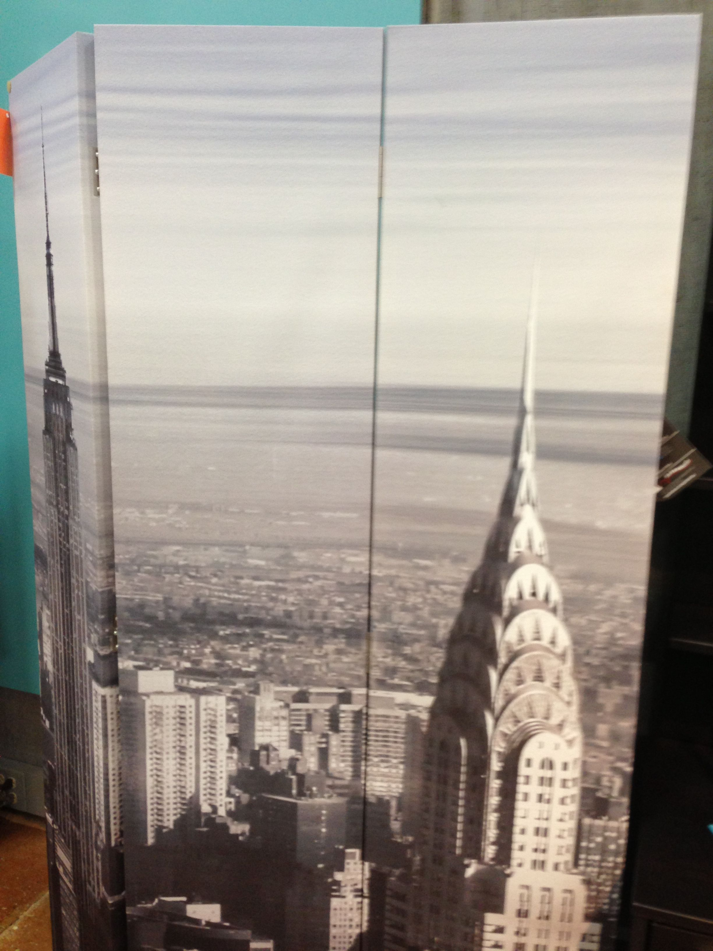 NYC Screen room divider from Underpriced Furniture