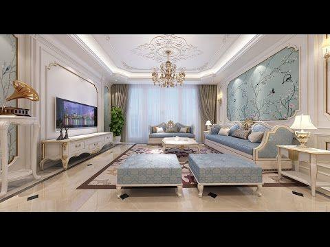 اجمل ديكورات صالات فخمة 2017 ديكورات صالات للضيوف 2017 Living Rooms Youtube Living Room Modern Modern Room Big Living Rooms