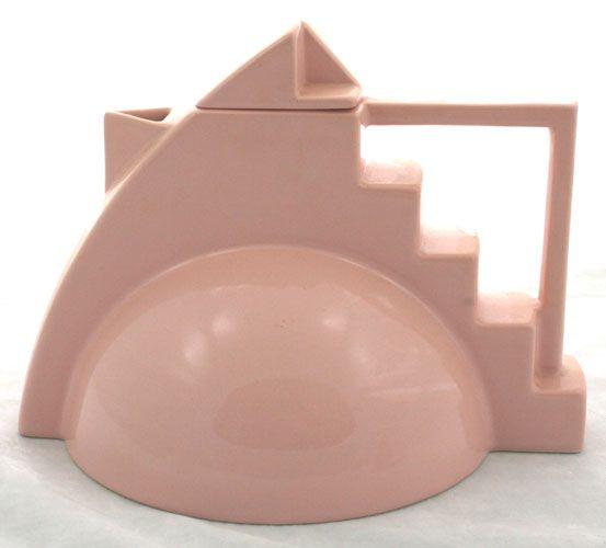 French Art Deco Teapot.