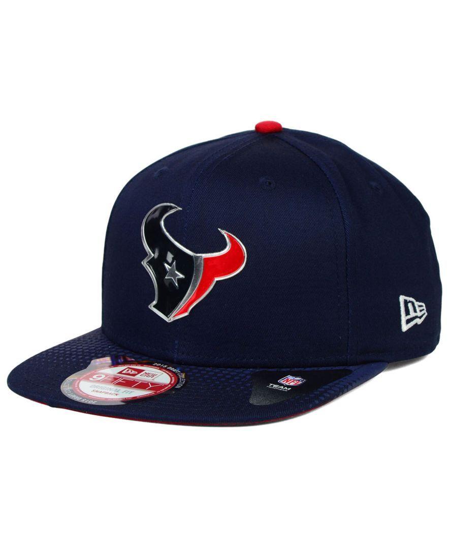 New Era Houston Texans 2015 Nfl Draft 9FIFTY Snapback Cap  e473d0736