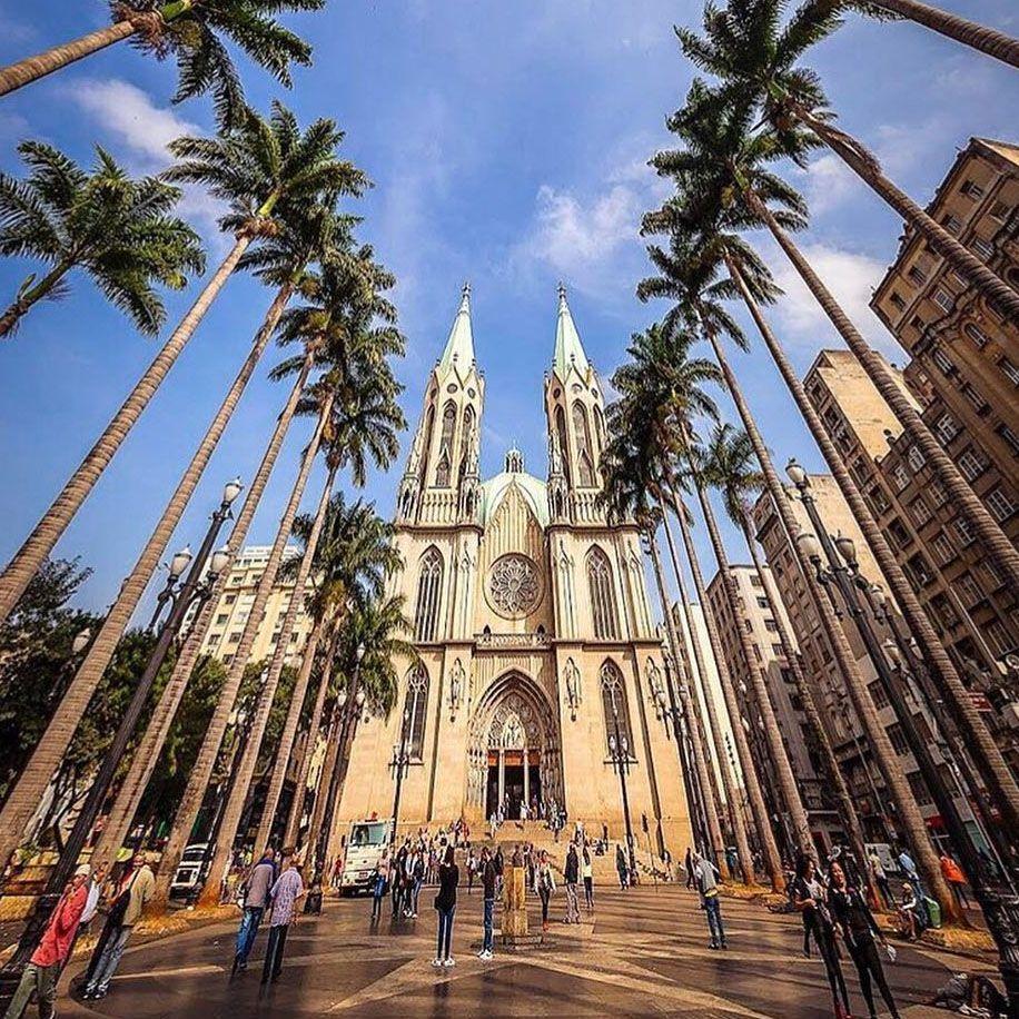 Catedral Da Se Sao Paulo Sp Sao Paulo Catedral Paulistano
