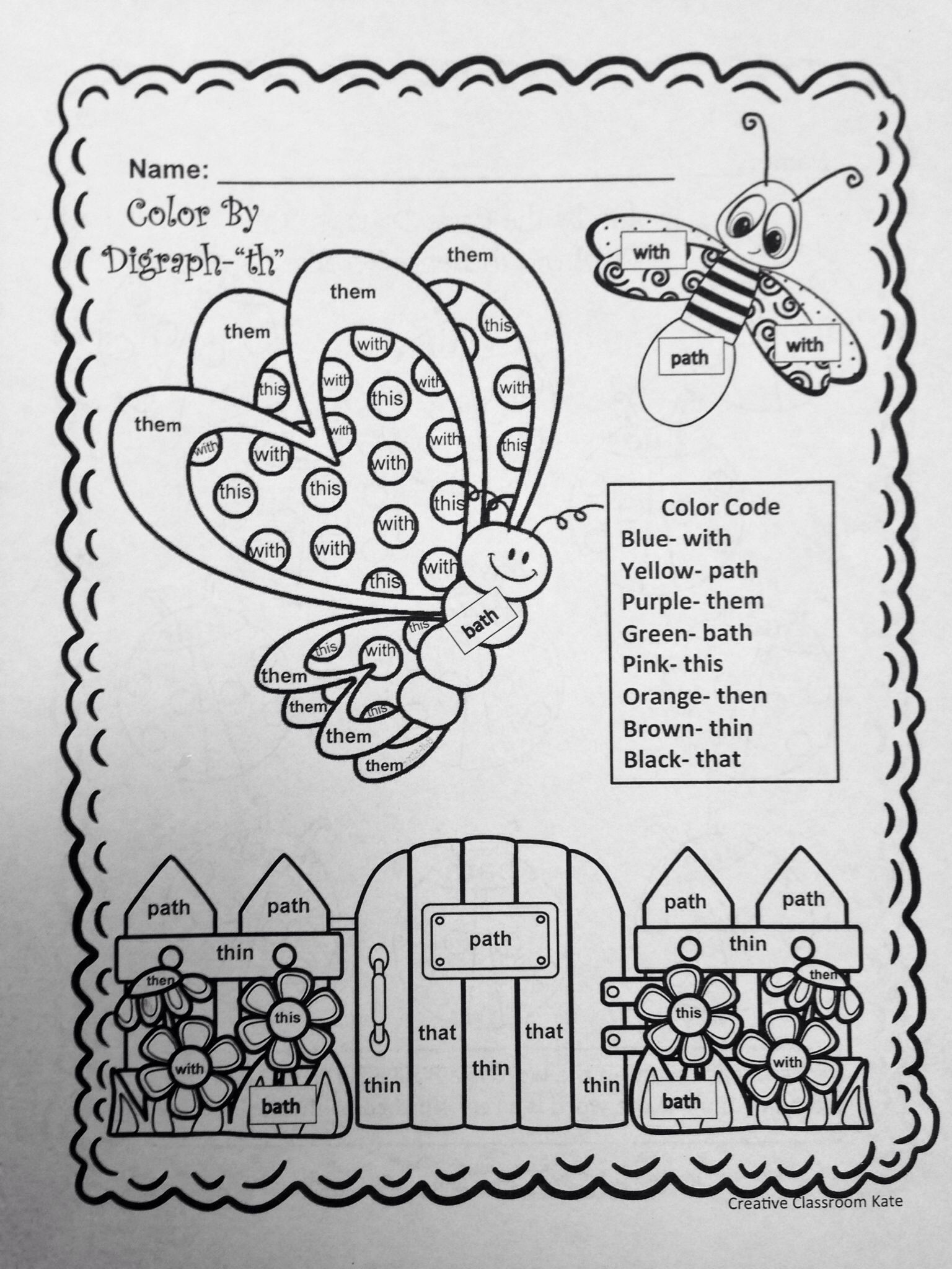 Digraphs Sh And Classroom Ideas Nonsense Words