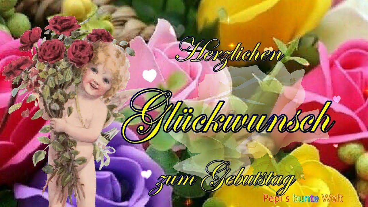 Herzlichen Gluckwunsch Zum Geburtstag Ich Wunsche Dir Liebe