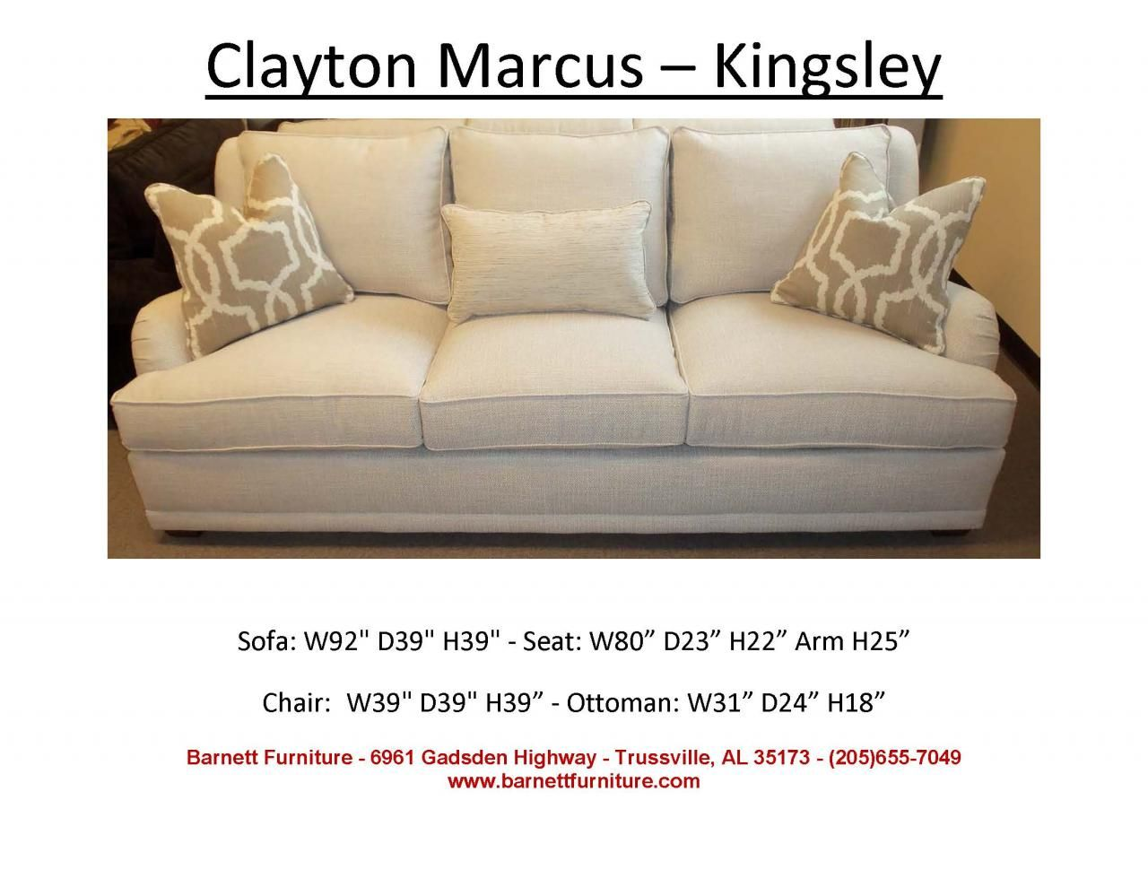 clayton marcus furniture clayton marcus sofas. Clayton Marcus Kingsley Sofa. You Choose The Fabric. Furniture Sofas