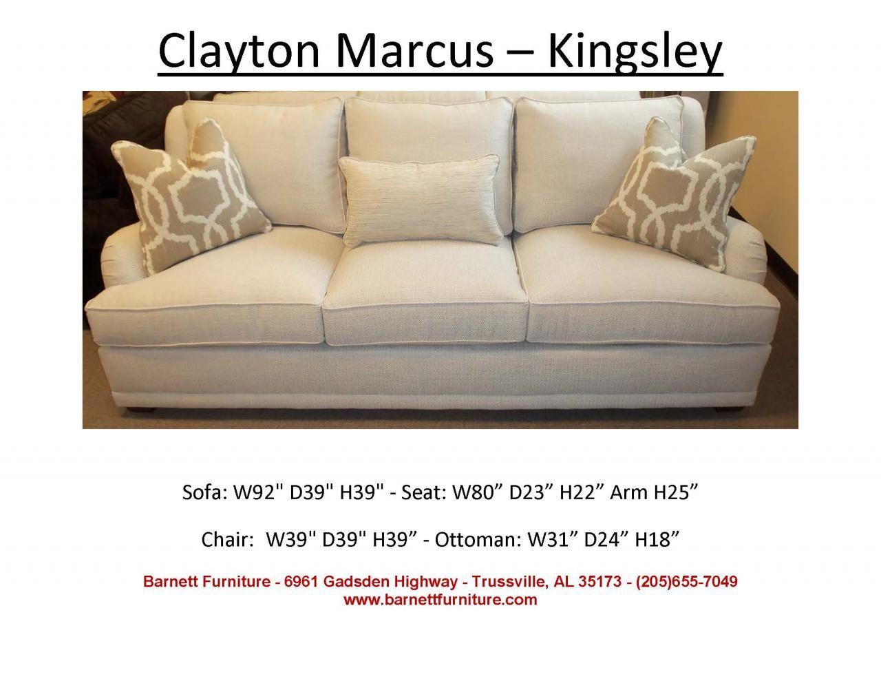 Clayton Marcus Kingsley Sofa You Choose The Fabric