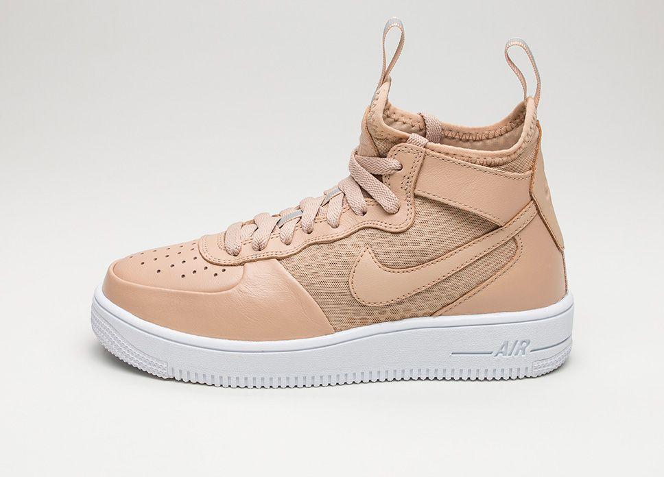 Nike Wmns Air Force 1 Ultraforce Mid (Vachetta Tan