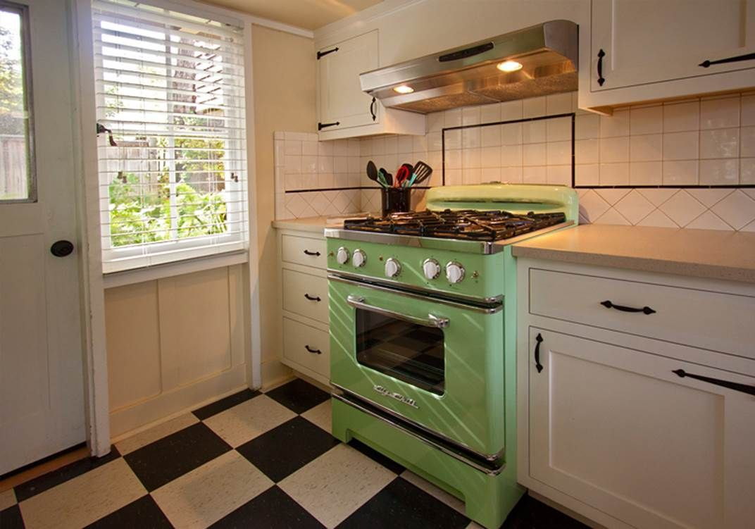 30 Retro Stove With 200 Custom Color Options