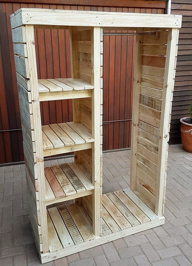 Imaginative wooden pallet projects as well as ideas
