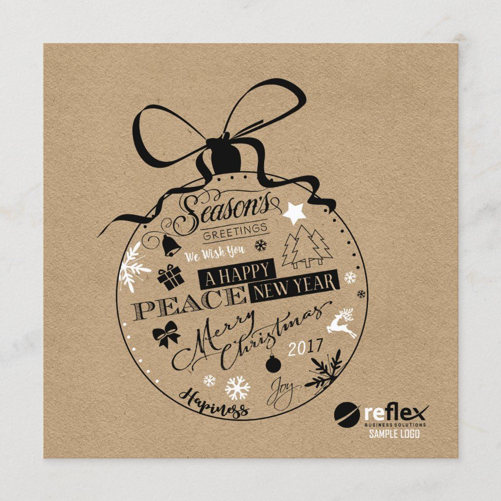 Creative Corporate Christmas Cards With Logo Business Christmas Cards Personalised Christmas Cards Corporate Christmas Cards