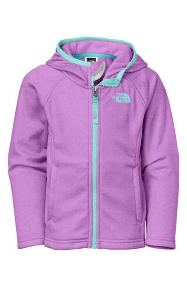 3d6057dcb The North Face Girl's 'Flurry' Colorblock Hooded Waterproof Wind Jacket, |  Dream Closet | Jackets, Toddler girl, North face kids
