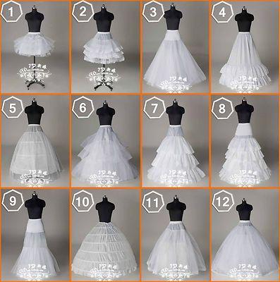 Mermaid style wedding dress slip