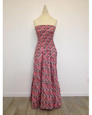 robe longue rose mode femme africaine n 90 mode africaine pinterest cire et roses. Black Bedroom Furniture Sets. Home Design Ideas