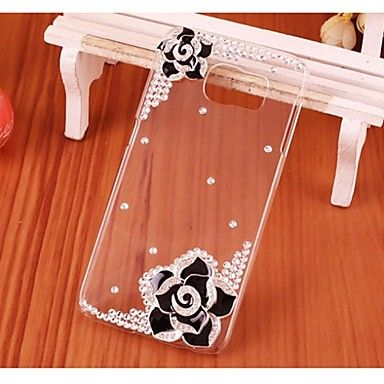 Crystal Samsung Galaxy S6 Cases Luxury Diamonds Flower Back Cover Cases for Samsung Galaxy S6