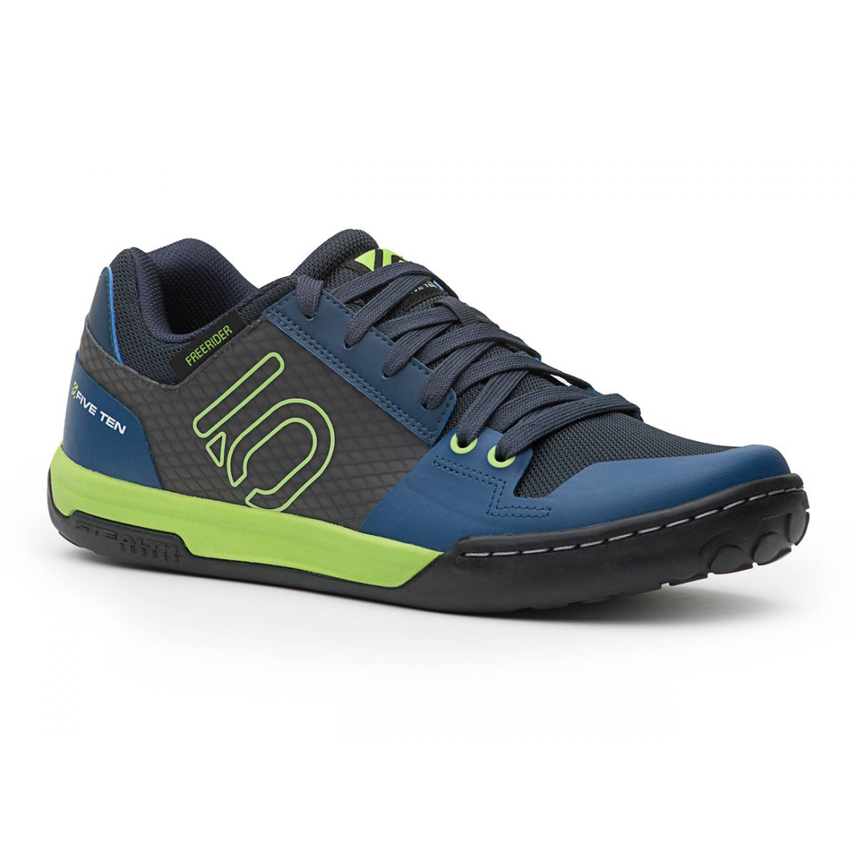 Five Ten Freerider Contact Flat Pedal Shoe Solar Green – Flag Ship  trail/all-