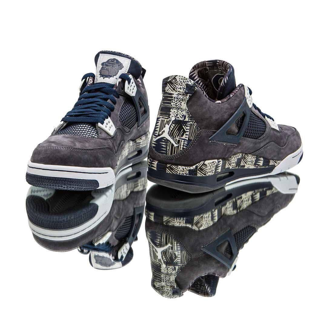 the latest 9f2df ca49e Air Jordan 4 Georgetown PE by blog.sneakerando.com sneakers sneakernews  StreetStyle Kicks adidas nike vans newbalance puma ADIDAS ASICS CONVERSE  DIADORA ...